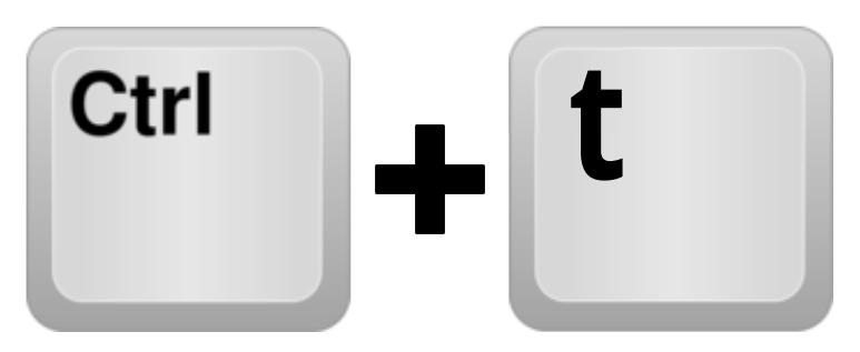 Sneltoets Ctrl-kleine-t formules weergeven