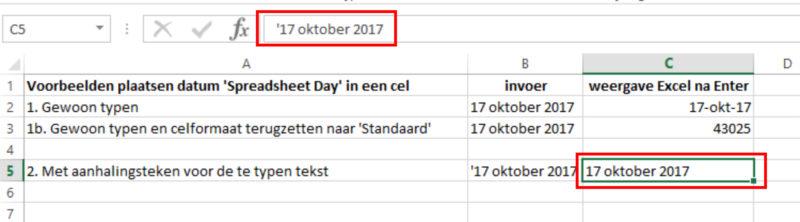 Hoe doe je dat in Excel Datum 02