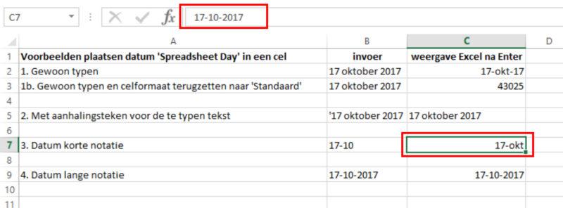 Hoe Doe je dat in Excel Datum 03